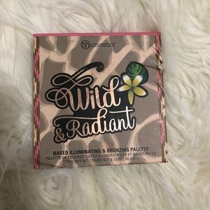 USED bh cosmetics wild & radiant palette